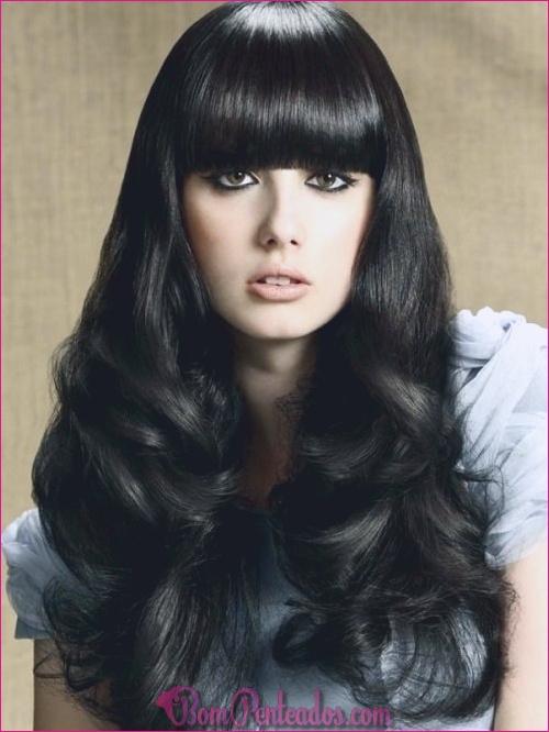 20 penteados encaracolados muito pretos