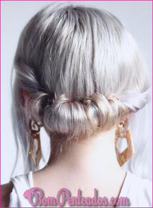 20 penteados bagunçados para mulheres