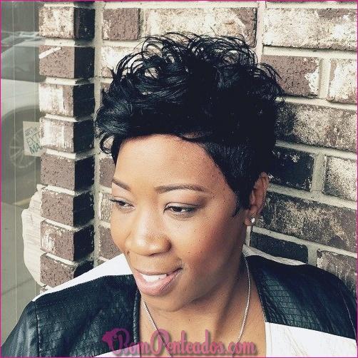 Penteados curtos para mulheres negras