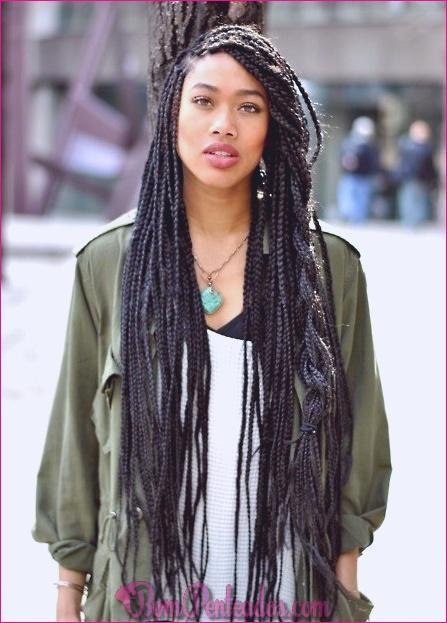 20 penteados sensuais para cabelos longos e grossos