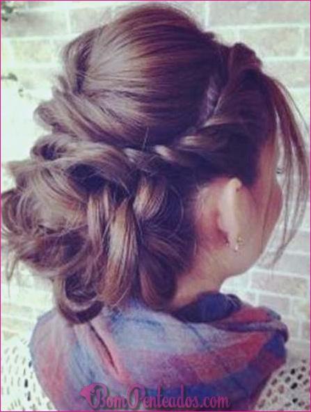 20 penteados elegantes para cabelos grossos