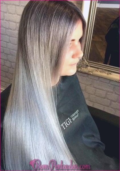 15 lisonjeiro Ash cabelo loiro parece
