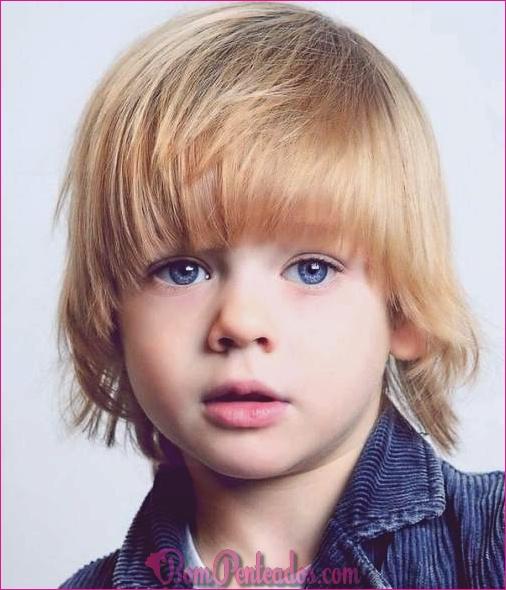 15 cortes de cabelo de menino bebê fofo