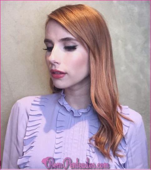Cor diferente para tingir o cabelo?