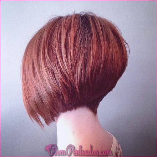 15 cortes de cabelo de Bob graduados
