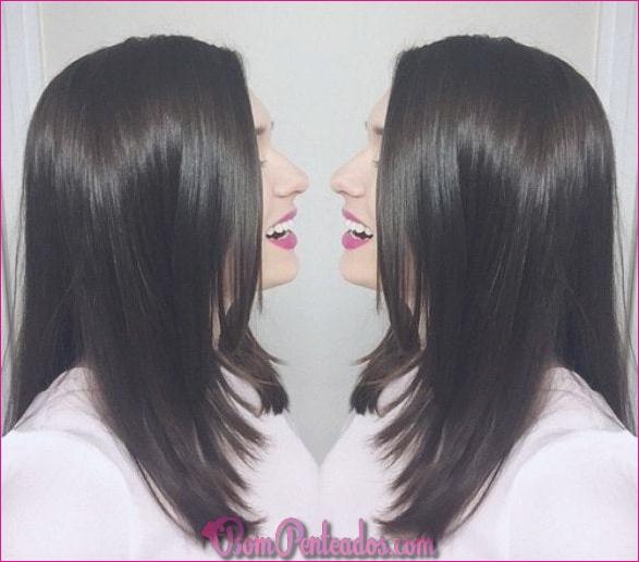 20 cortes de cabelo médios em camadas para mulheres