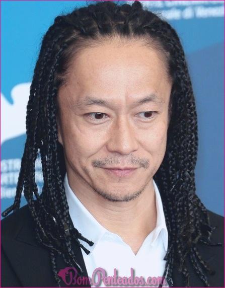 Idéias legais para penteados de homens asiáticos