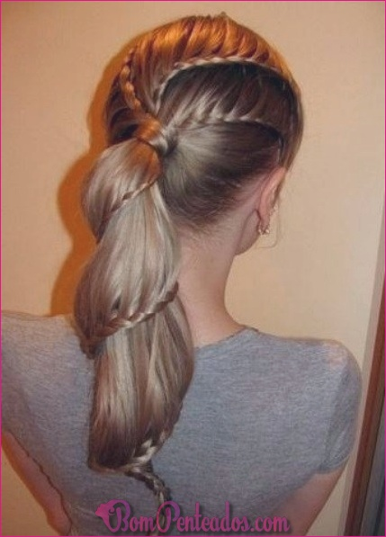 20 penteados populares rabo de cavalo