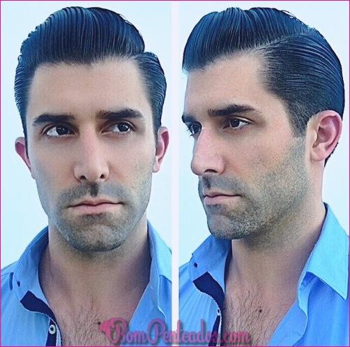 Penteados desportivos para homens com rostos redondos