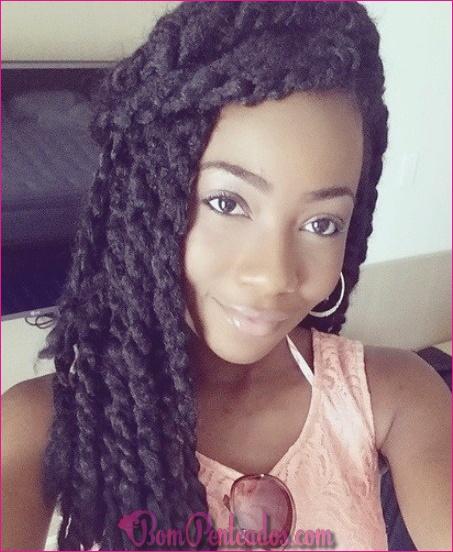 20 penteados naturais africanos para qualquer comprimento de cabelo