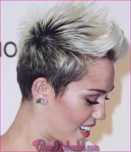 20 deslumbrantes penteados curtos para as mulheres