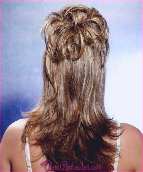 15 penteados fáceis para cabelos longos