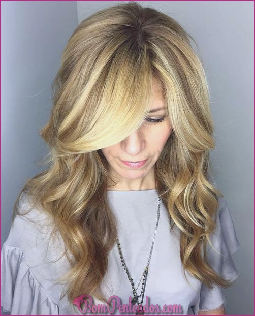 15 penteados bonitos para longas faces