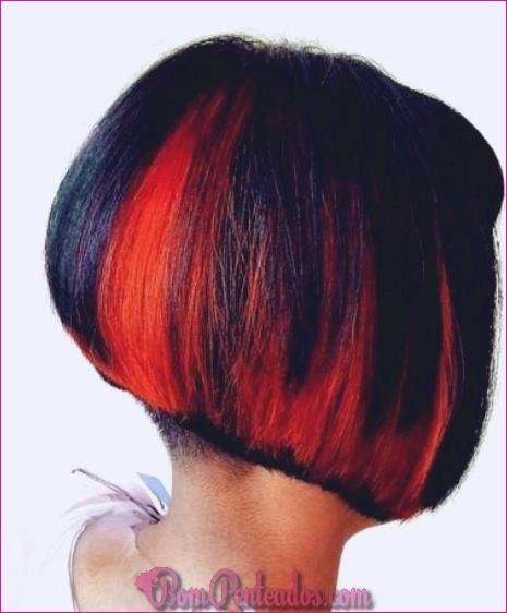 15 hipnotizante curto penteados vermelhos