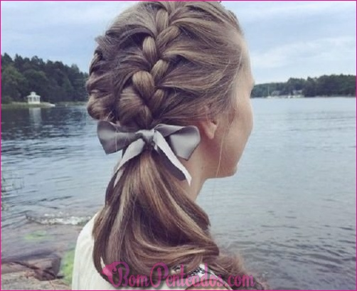 20 estilos de trança fantástica para meninas