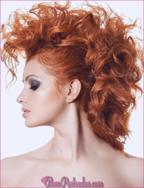 15 melhores updos para cabelos cacheados