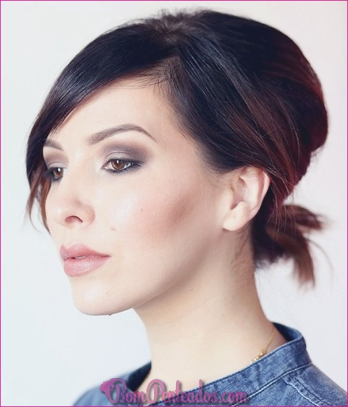 Como pentear cabelo curto?