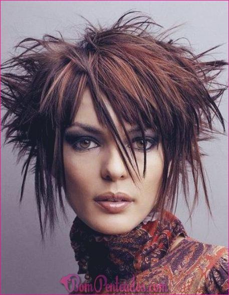 20 penteados funky para cabelo de comprimento médio