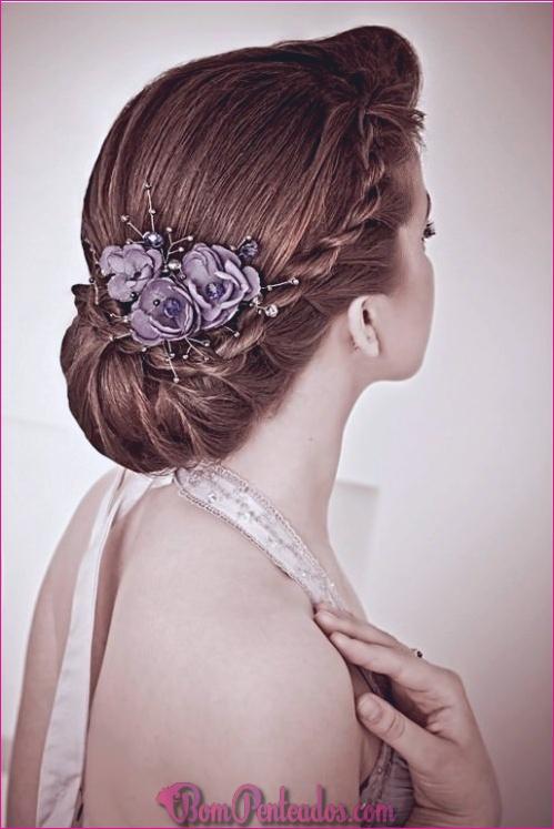 15 soberbos penteados para noivas e madrinhas
