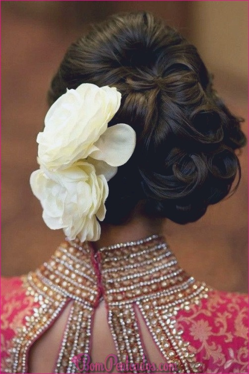 Melhores penteados para casamento indiano